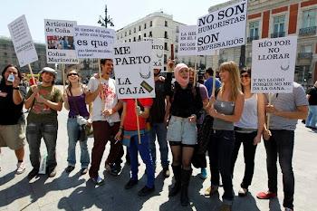 Risistencia protestamos por la libertad