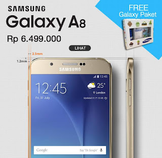 Samsung Galaxy A8 Bonus Package Galaxy