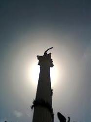 Monolito de la Plaza Bolivar de Valencia