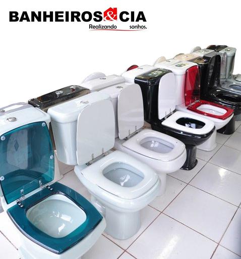 Banheiros e cia Vasos Sanitários -> Jogo De Banheiro Pia E Vaso