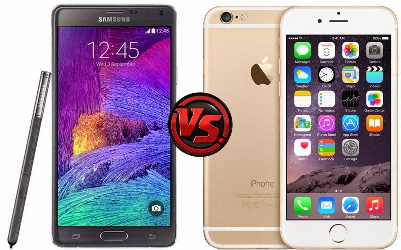 iPhone 6 Plus – Galaxy Note 4 karşılaştırması