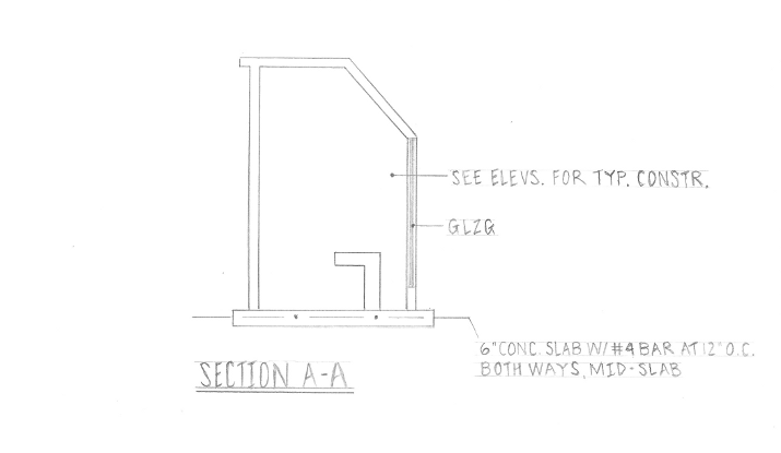Plan Elevation Section Of Bus Stop : Whimzeecal architecture bus stop design