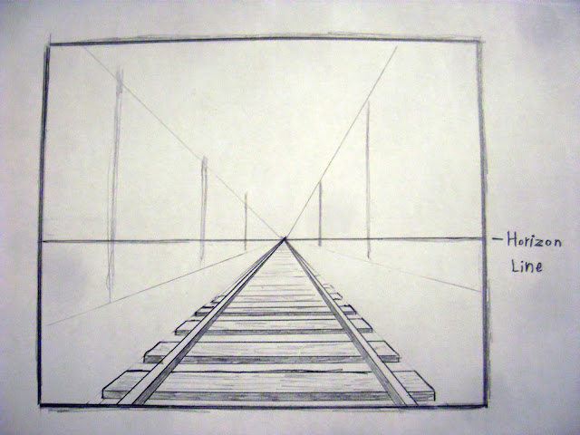Cool One Point Perspective Drawings How to draw in perspec...