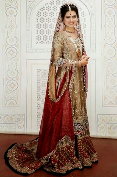 Latest Pakistani Bridal Dresses 2015 For Women | Fashion ...