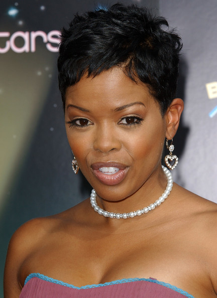 fashion and whatever i like malinda williams short hair