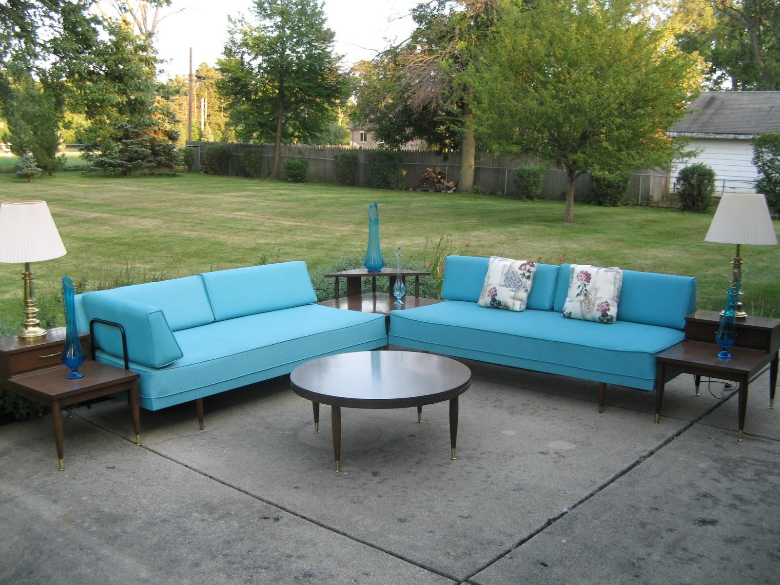 MidCenturyModernManiagmailcom Ss Turquoise Aqua Brilliant - Mid century modern corner table