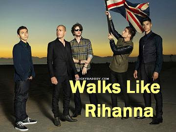 THE WANTED - Walks Like Rihanna Lyrics THE WANTED - Walks Like Rihanna ...