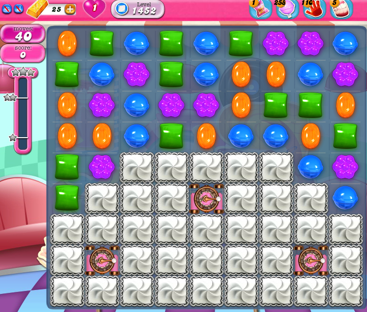 Candy Crush Saga 1452