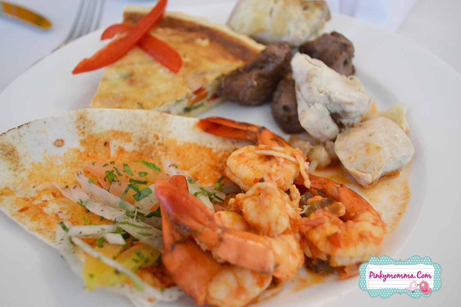 Pinky momma for Al amar lebanese cuisine