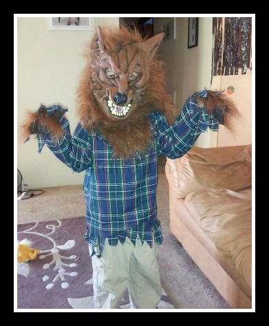 Tot Werewolf Costume