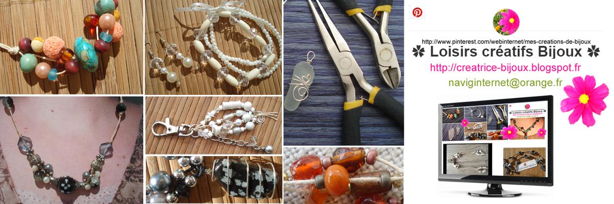 Créatrice de bijoux fantaisie création à la maison en DIY COLLIERS PERLES