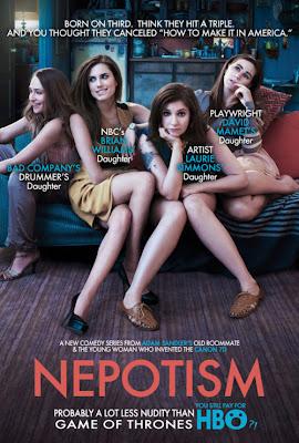 "Girls HBO Zosia Mamet Jemima Krike Alison Williams Lena Dunham ""Hijas de"" nepotism nepotismo"