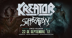KREATOR Y SOFFOCATION
