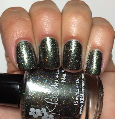 KBShimmer Birthstone Collection; Black Pearl