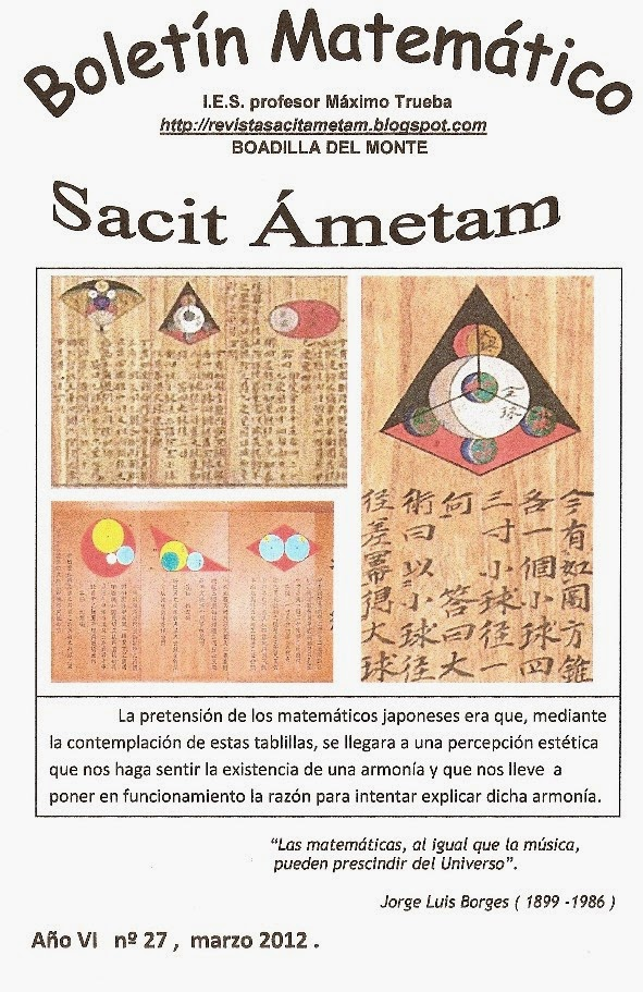 Boletín Sacit Ámetam nº 27