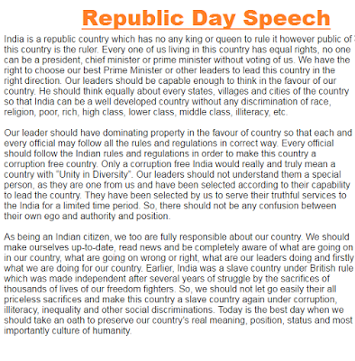 republic day in english essay