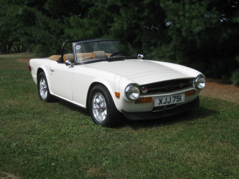 Daily Turismo: 10k: Rover Power: 1974 Triumph TR6, Rover V8