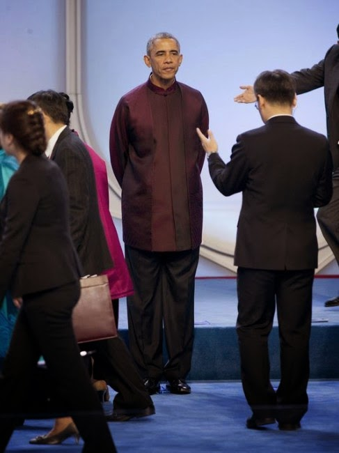 Obama Dress China Can Someone Please Dress Obama