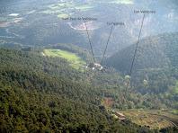 La Vall de Valldeneu des del mirador de les Avellanedes
