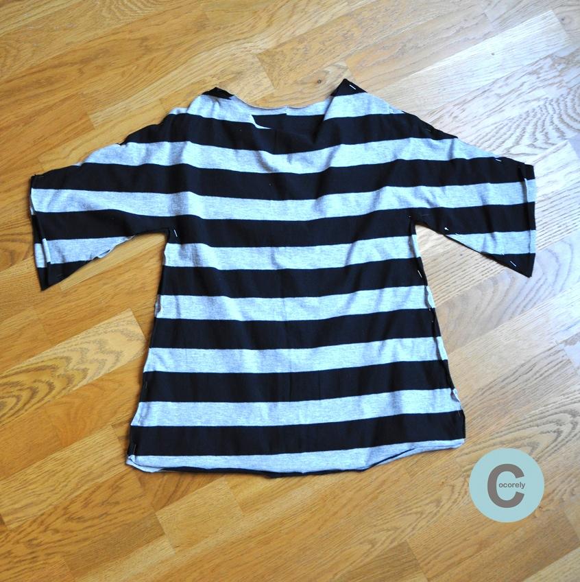 Les f nt isies de cocorely robe de fillette partir d 39 un - Comment plier un t shirt ...
