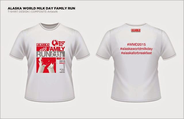 Alaska World Milk Day Family Run Registration Shirt