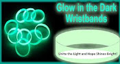 Glow-in-the-dark Wrist-band (Item #4)