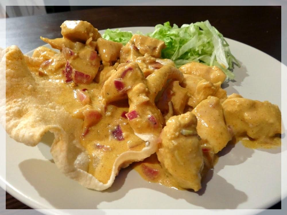 le blog de miss red cooks recette 18 poulet l 39 indienne sauce curry yahourt. Black Bedroom Furniture Sets. Home Design Ideas