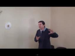 """""""El eterno presente como fuente de desarrollo espiritual"""" Juan Javier Vesga Rodriguez - Síndico"""