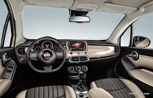 Fiat 500X Lounge Dash