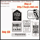 DECEMBER STAMP OF THE MONTH - Special Care