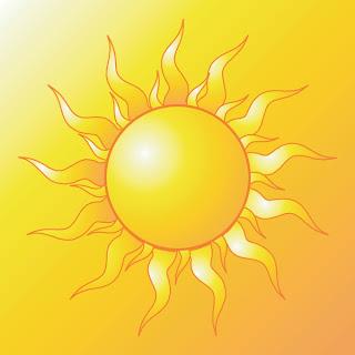 Flash tasarımlarınızda veya baskılarda kullanabileceğiniz .eps formatında vektörel güneş resimleri…