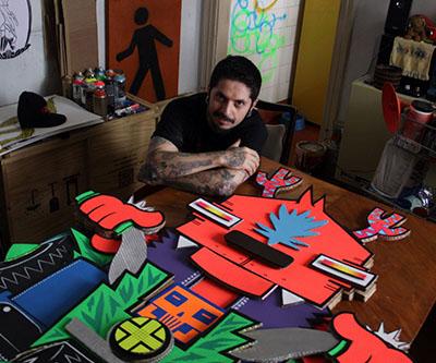Sob a curadoria de Edgar de Camargo, a mostra terá trabalhos do Projeto Papelão, de Luan Zumbi, Rockets e Rodrigo Falco, todos relacionados com a temática da mostra. (Divulgação)