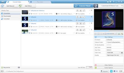 تحميل برنامج تحويل جميع صيغ الفيديو برابط مباشر Download Any Video Converter 5.7.9