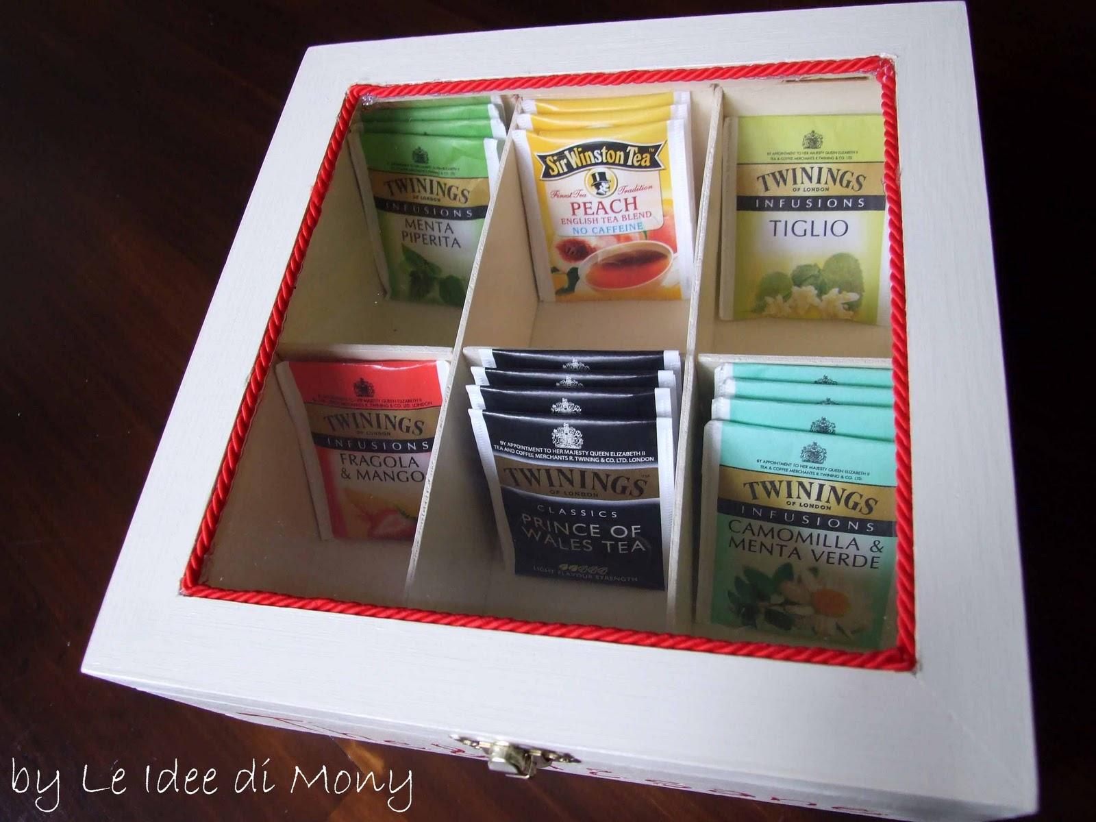 Le idee di mony scatola the 39 tisane dipinta e - Porta tisane ikea ...