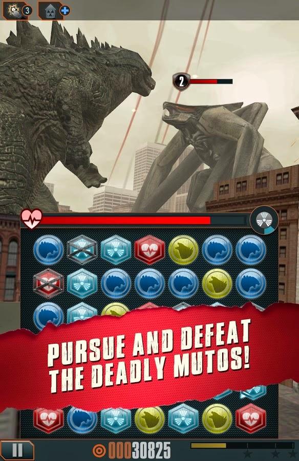 Godzilla Smash3 unlocked apk