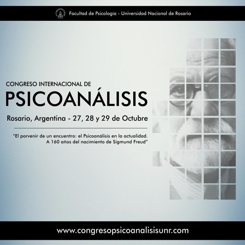 CONGRESO INTERNACIONAL DE PSICOANALISIS EN ROSARIO