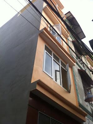 bán nhà bằng a bằng liệt hoàng mai - tổng thể căn nhà