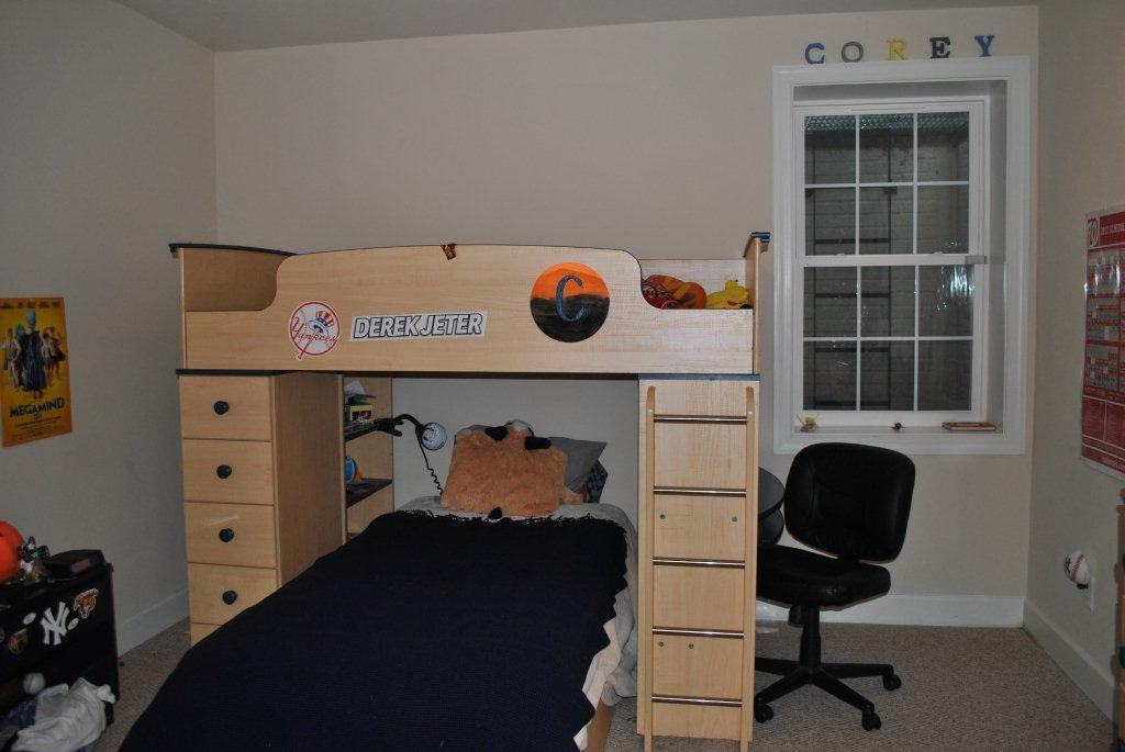 Tween Boy Baseball Room Part IV Furniture Gets Steel Look