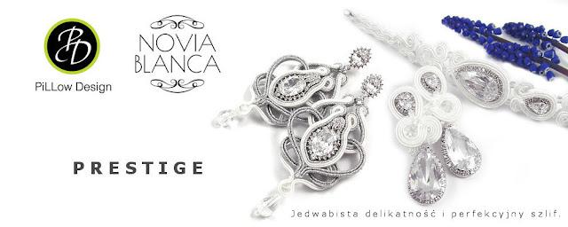 PRESTIGE, kolekcja ślubna sutasz z kryształami Swarovski
