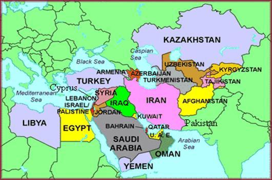 Unit 3: Middle East   World Cultures (Rettig)