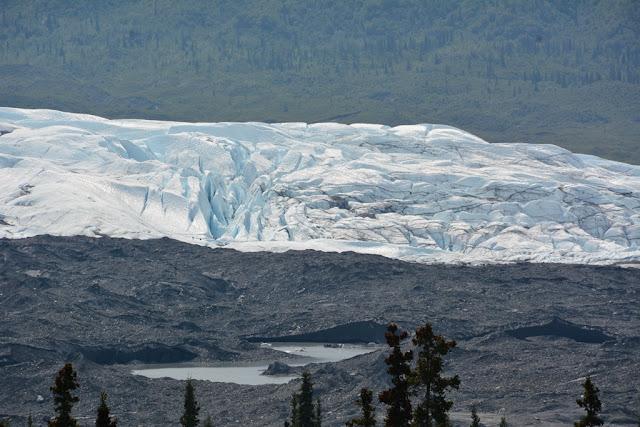 Matsu Valley glacier