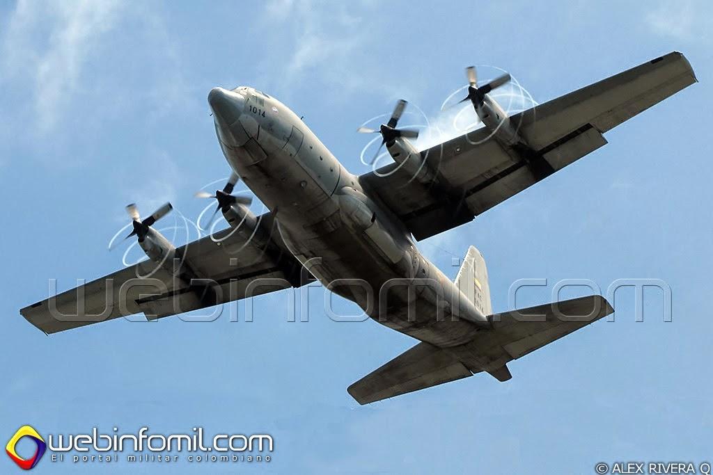 Fuerza Aérea Colombiana Angel Thunder C-130