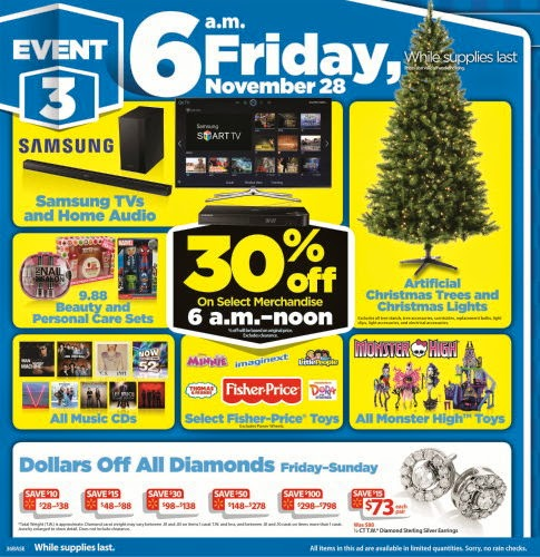 Walmart 2014 Black Friday Flyer