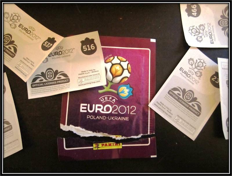 Album Panini Euro2012 stickers images