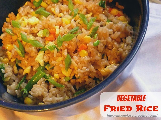 Vegetable Fried Rice | Ms. enPlace