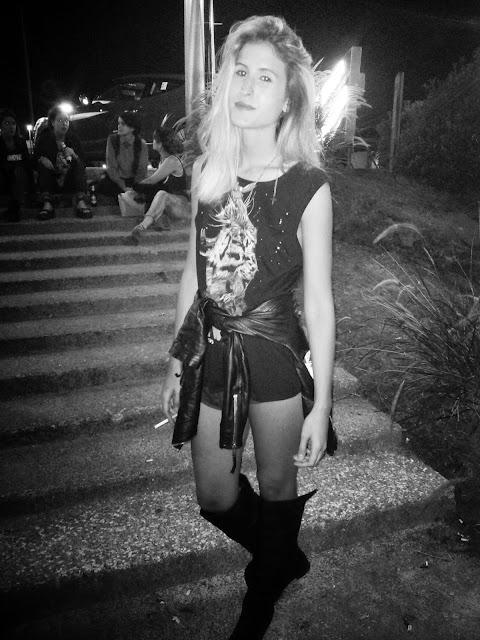 flor-bracco-model-style-total-black-outfit-rock-inspiration-gente