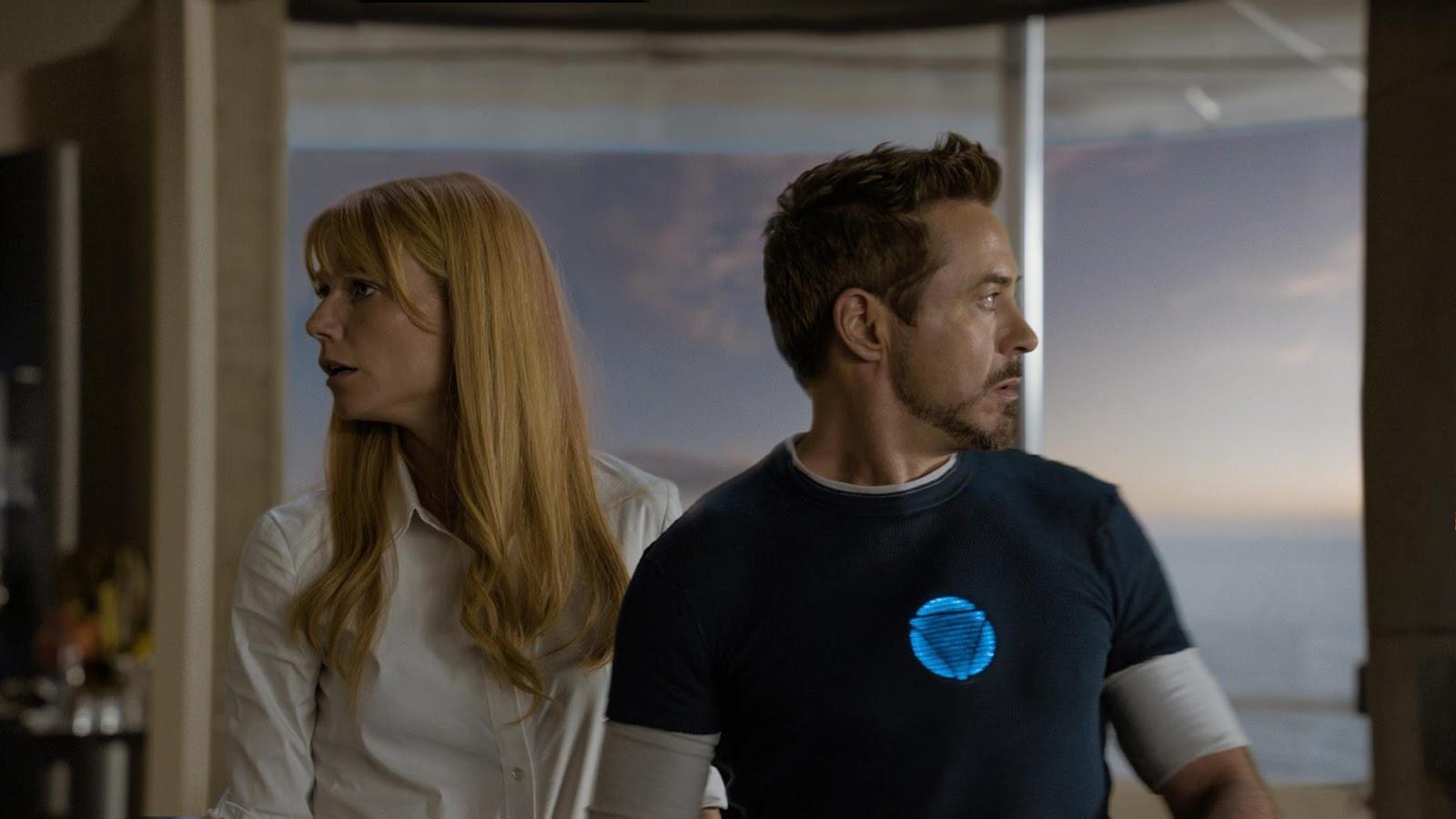 Imágenes oficiales de Iron Man 3 - Tony y Pepper