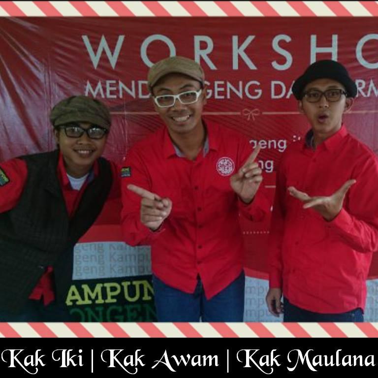 Para Trainer Kampung Dongeng