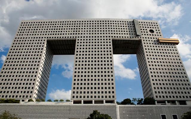El edificio elefante en Bangkok, Tailandia
