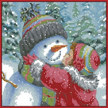 A Kiss for Snowman dimensions 08833
